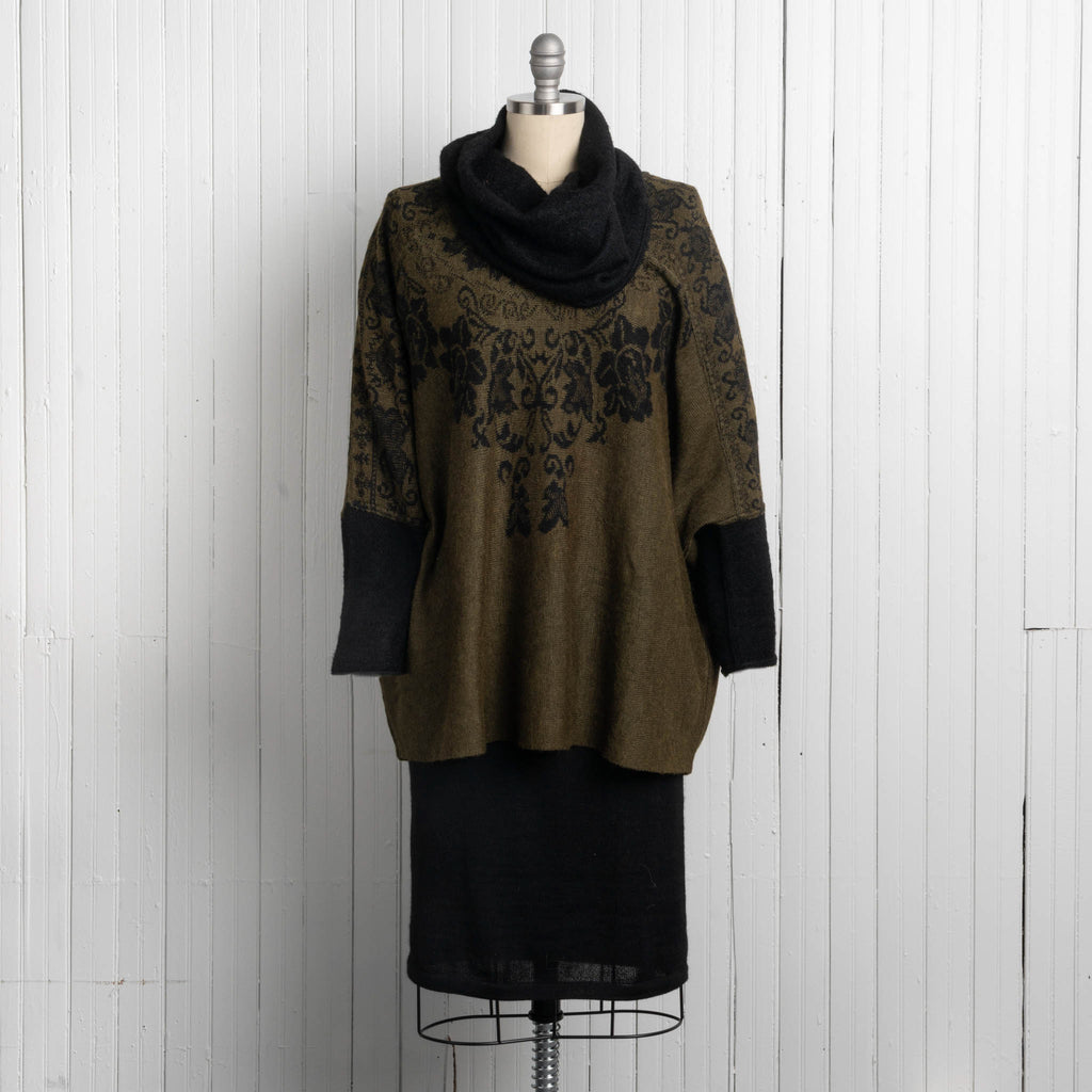 Women's Lolita Poncho Sweater
