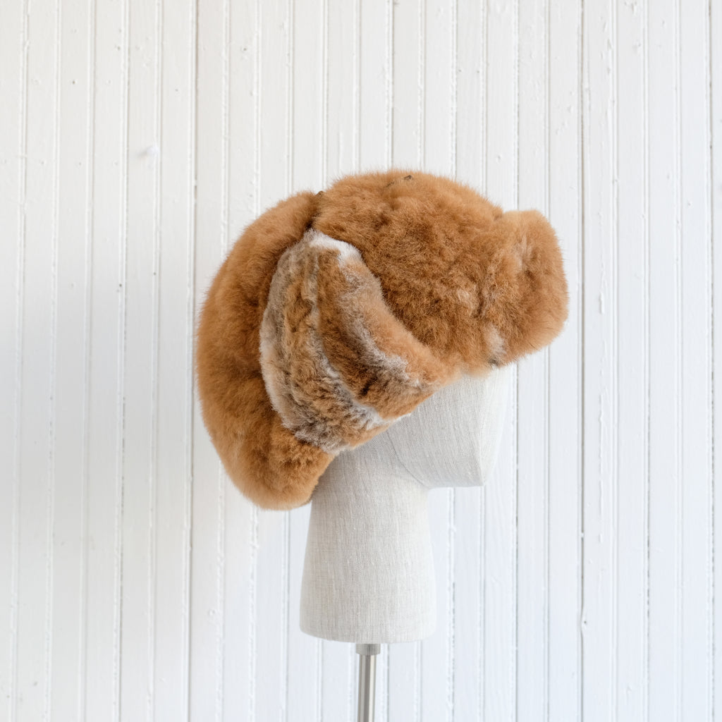 Alpaca Fur Trapper Hat