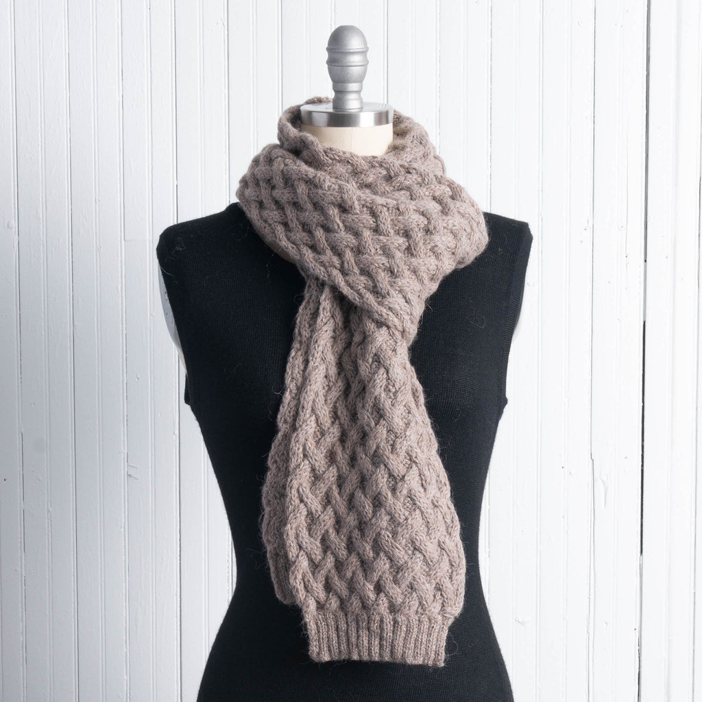 Shadow Cable Scarf