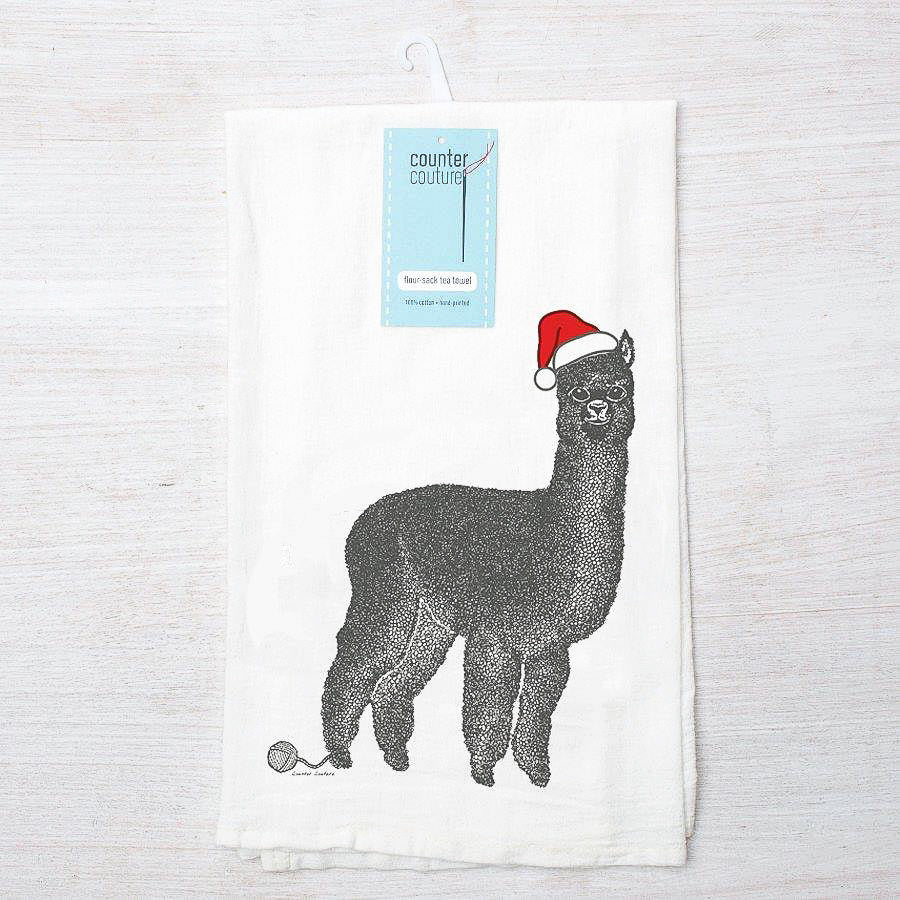 Holiday Flour Sack Tea Towels