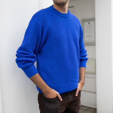 Men's Honeycomb Sweater