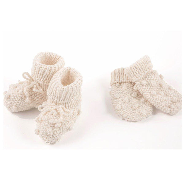 Lexi Ky Bobble Mittens and Booties Set
