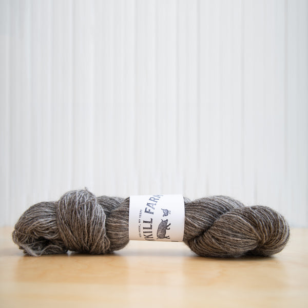 Sawkill Farm Yarn-Worsted Weight and Variegated Grey-DK