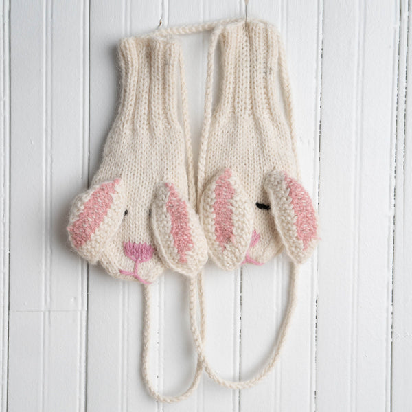 Children's Animal Mittens