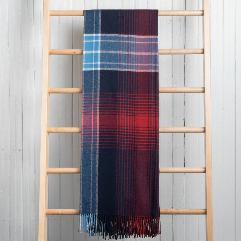Fluff Alpaca Plaid Throws