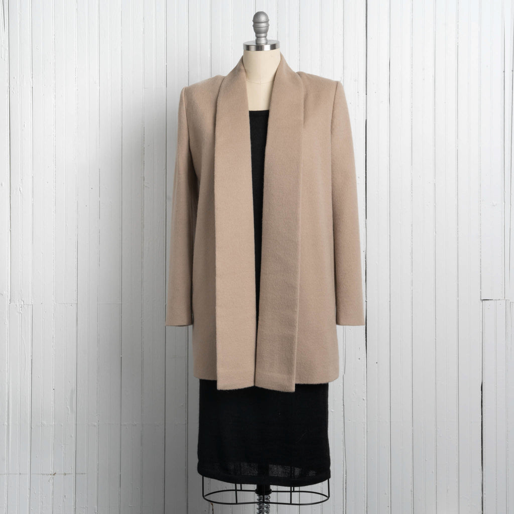 Women's Shawl Collar Coat