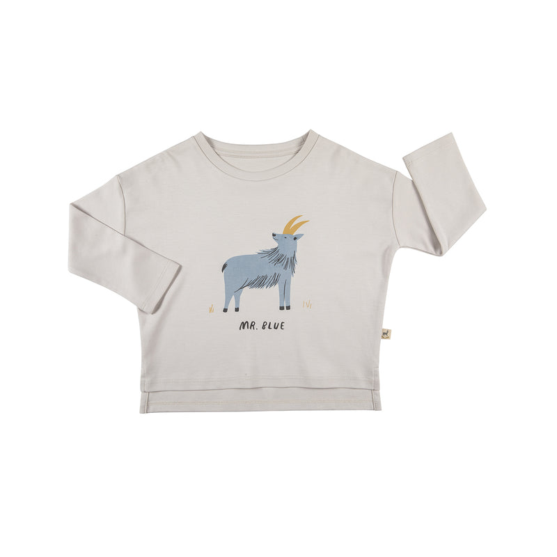 Red Caribou Oversized T-Shirt