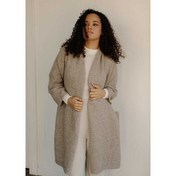 Bare Knitwear Full Length House Coat