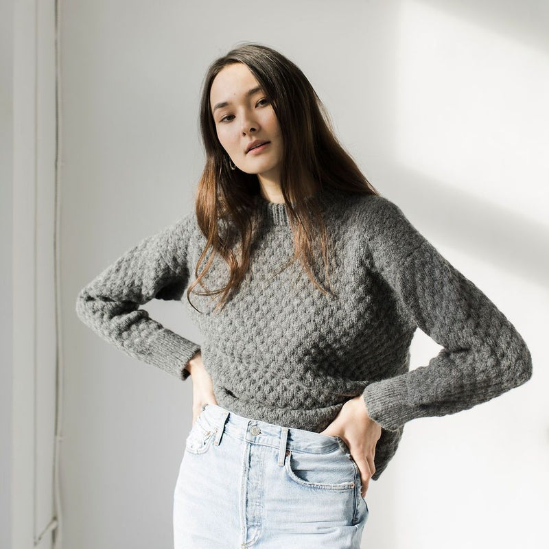 Bare Knitwear Pebble Crew