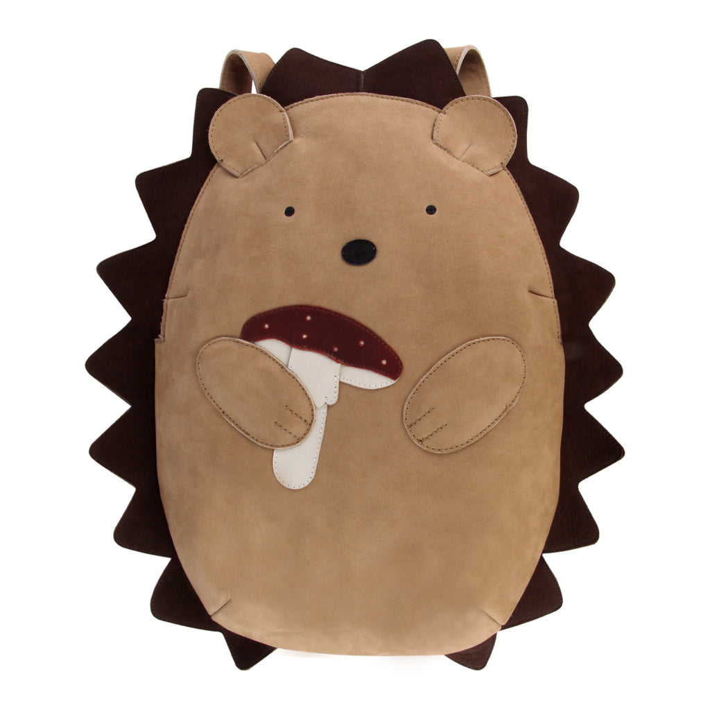 Donsje Benjie Schoolbag in Hedgehog