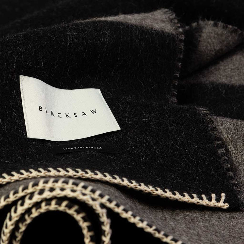 Blacksaw Mason Reversible Throw