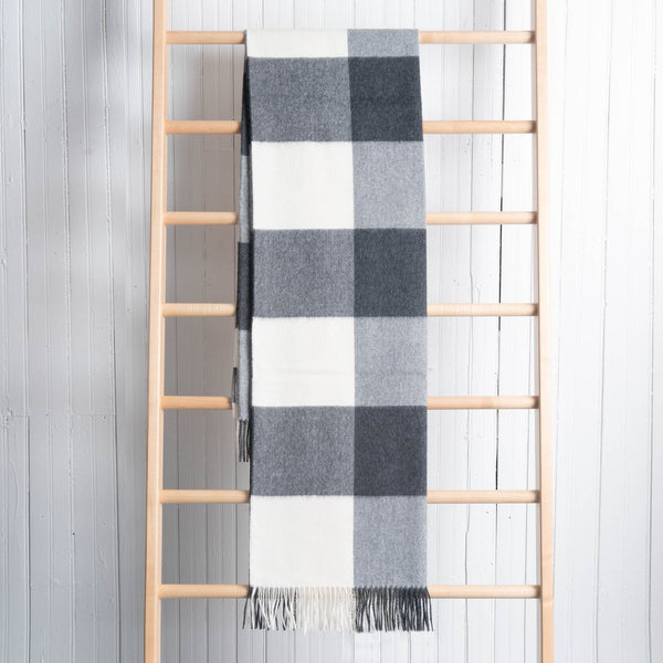 Fluff Alpaca Buffalo Checked Throws