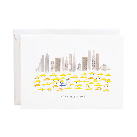 'East Coast Wishes' Birthday Greeting Card
