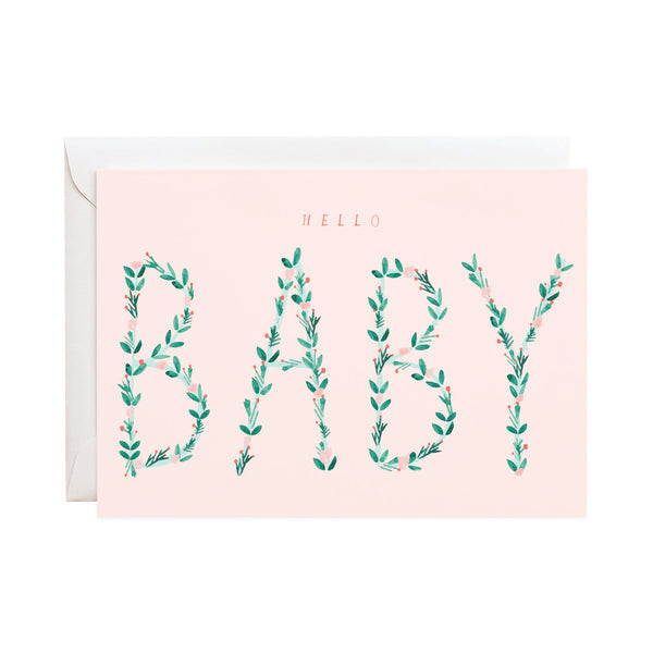 'Hello Baby' Newborn Card