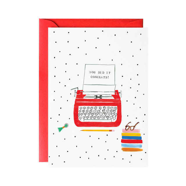 'A Congrats Note for You' Greeting Card