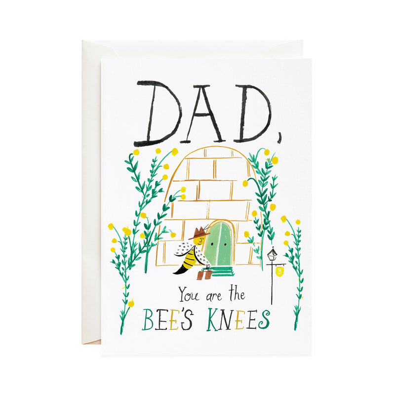 'The Bee's Knees' Father's Day Card