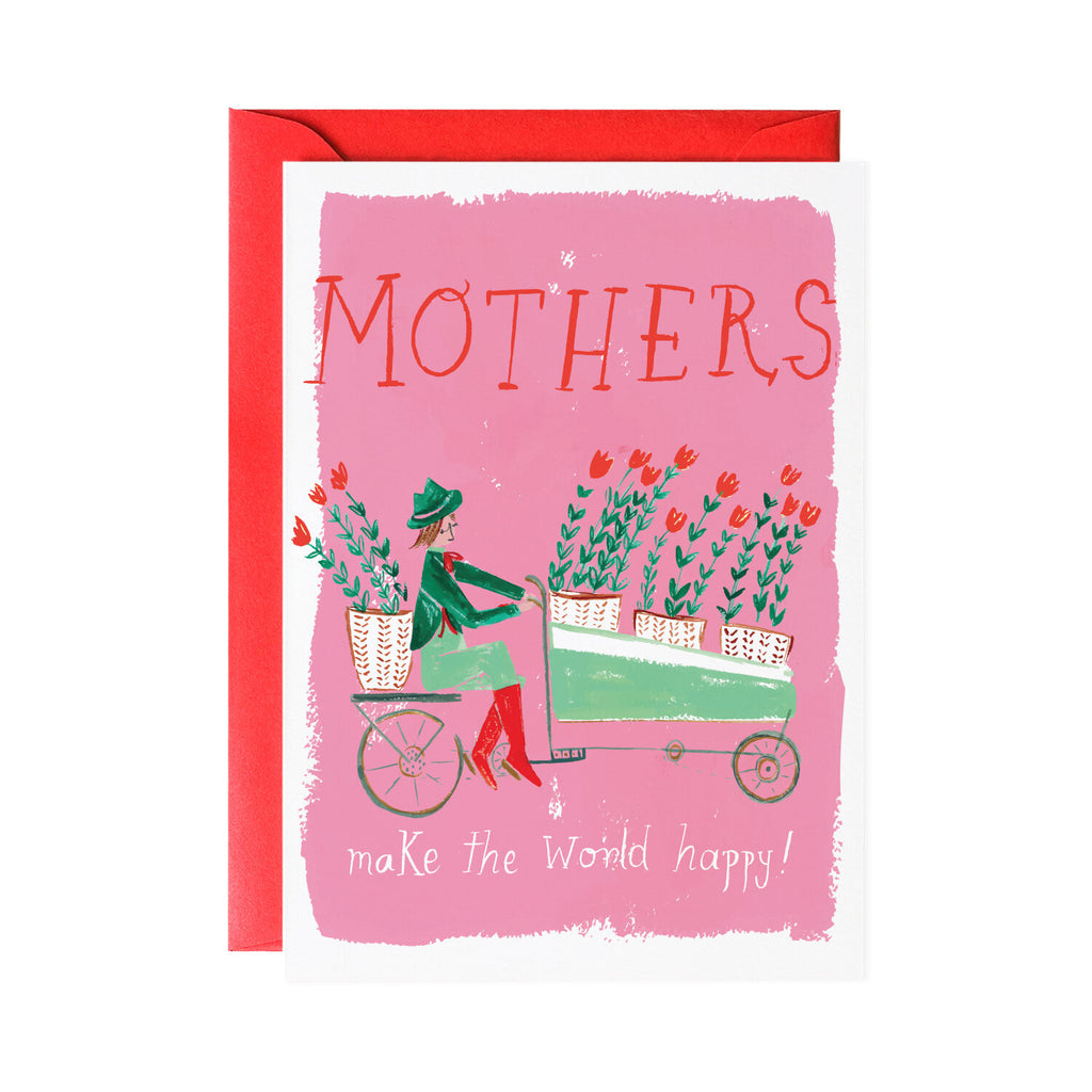 'Tulip Delivery' Mother's Day Card
