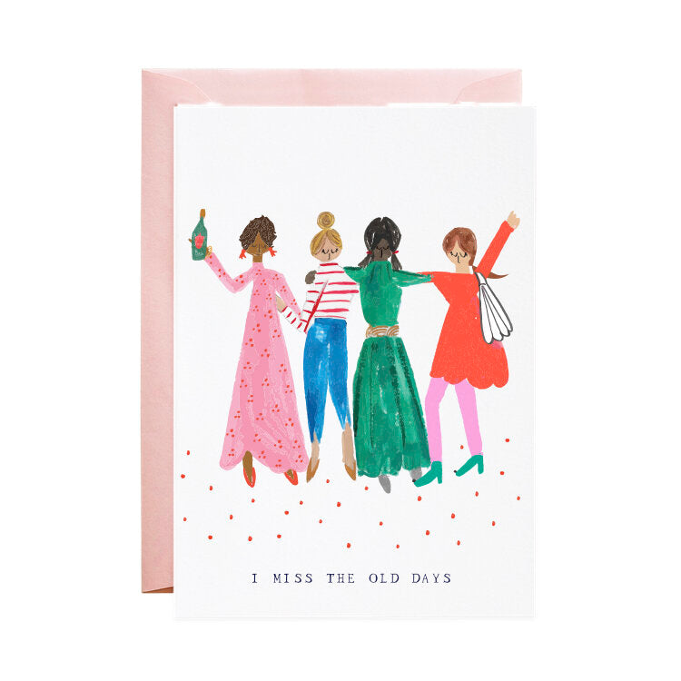 'Girlfriends Where Are You?' Greeting Card