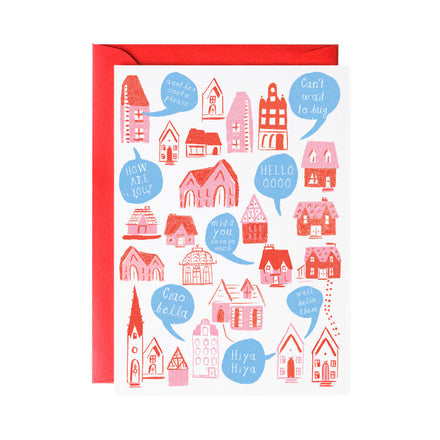 'House to House' Greeting Card