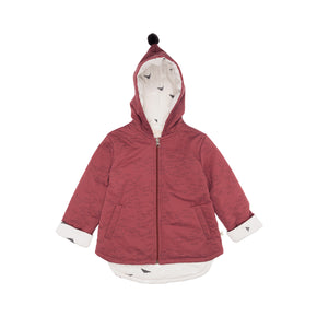 Red Caribou Padded Insulated Jacket
