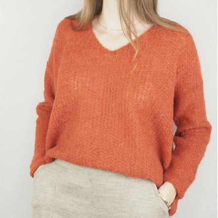 Michele and Hoven Brigitte Loom Sweater