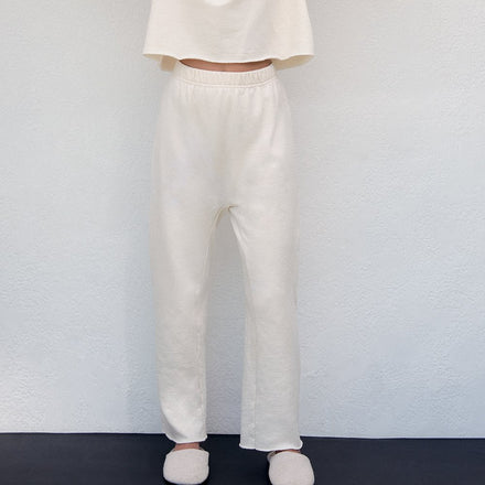 Wol Hide Easy Winter Sweatpant in Natural