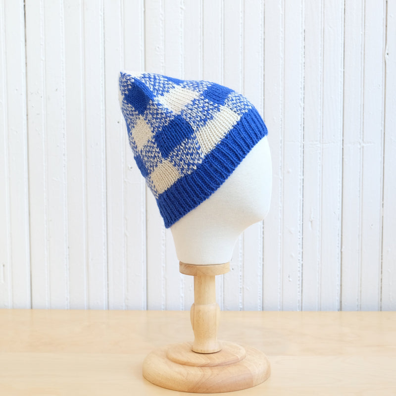 Cabbages and Kings Gingham Check Hat