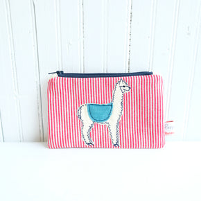 Fluff Alpaca  x Poppy Treffry Small Useful Purse