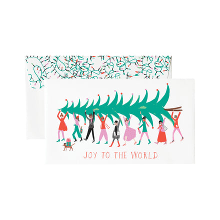 'It Takes a Village' Greeting Card