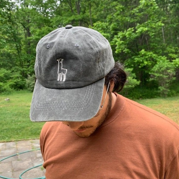 Fluff Alpaca Pigment Dyed Cotton Twill Hats