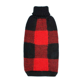 Buffalo Plaid Dog Sweater