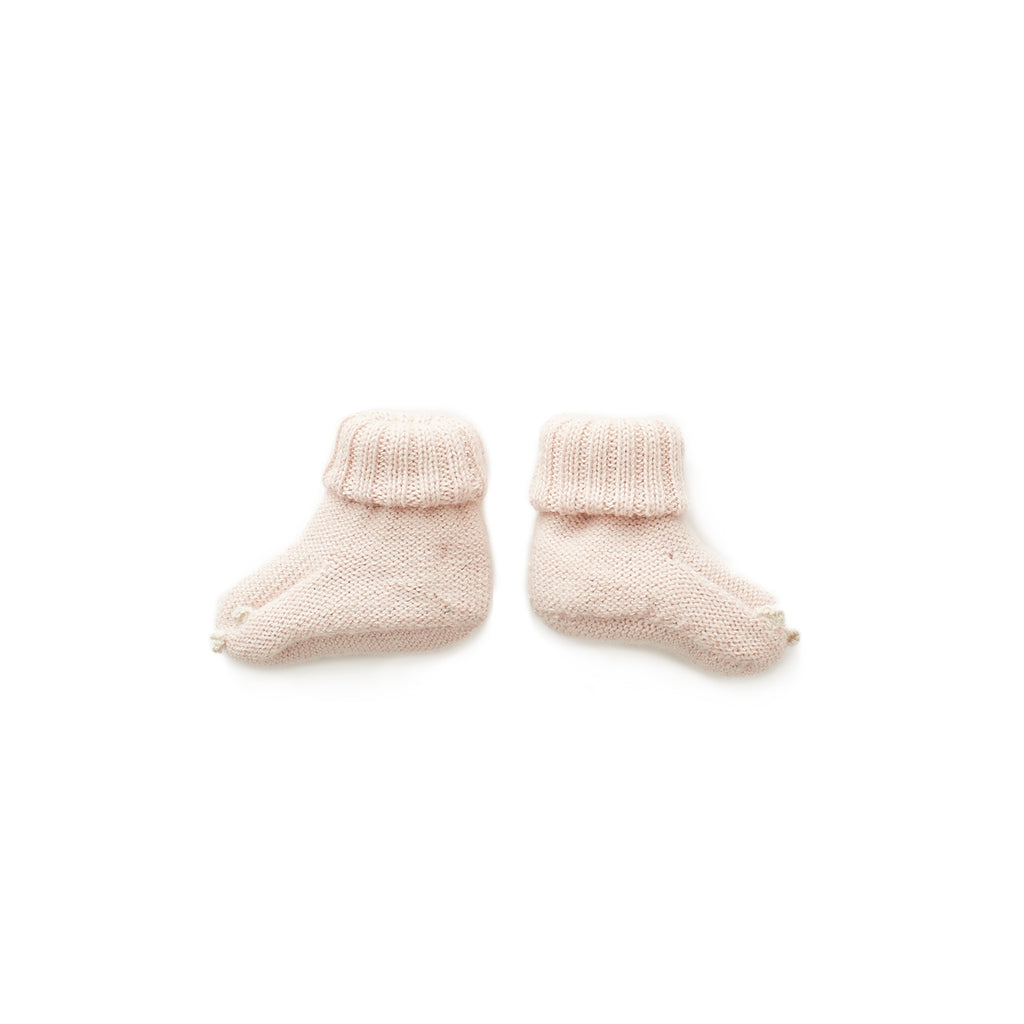 Oeuf Light Pink Unicorn Booties