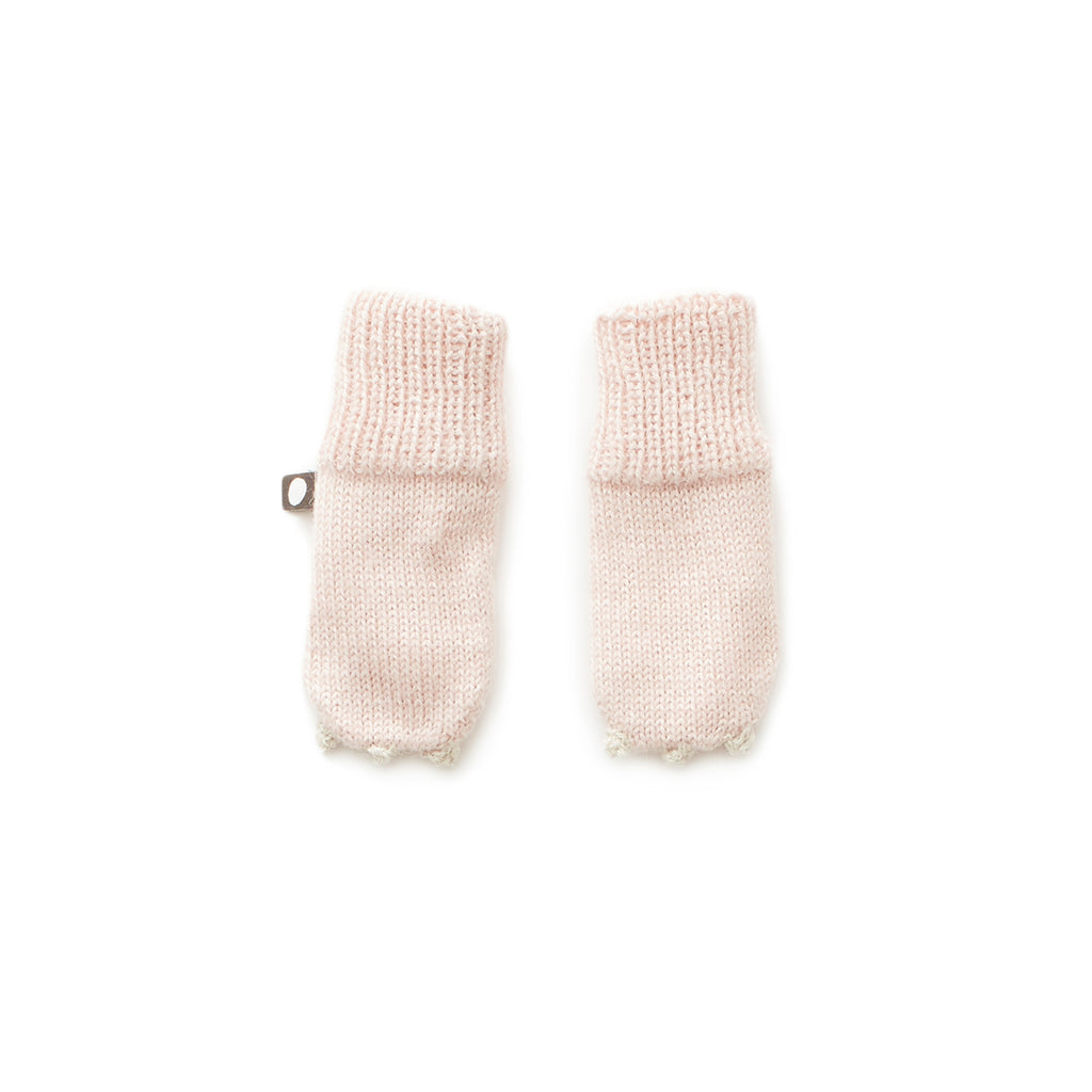 Oeuf Light Pink Unicorn Mittens