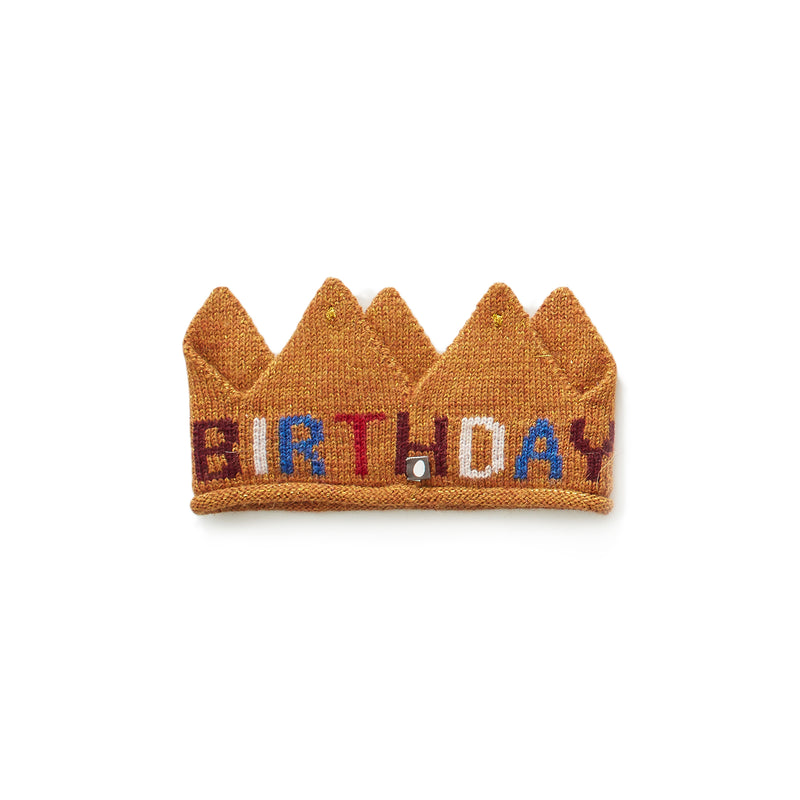 "Oeuf  ""Birthday"" Embroidered Crown"