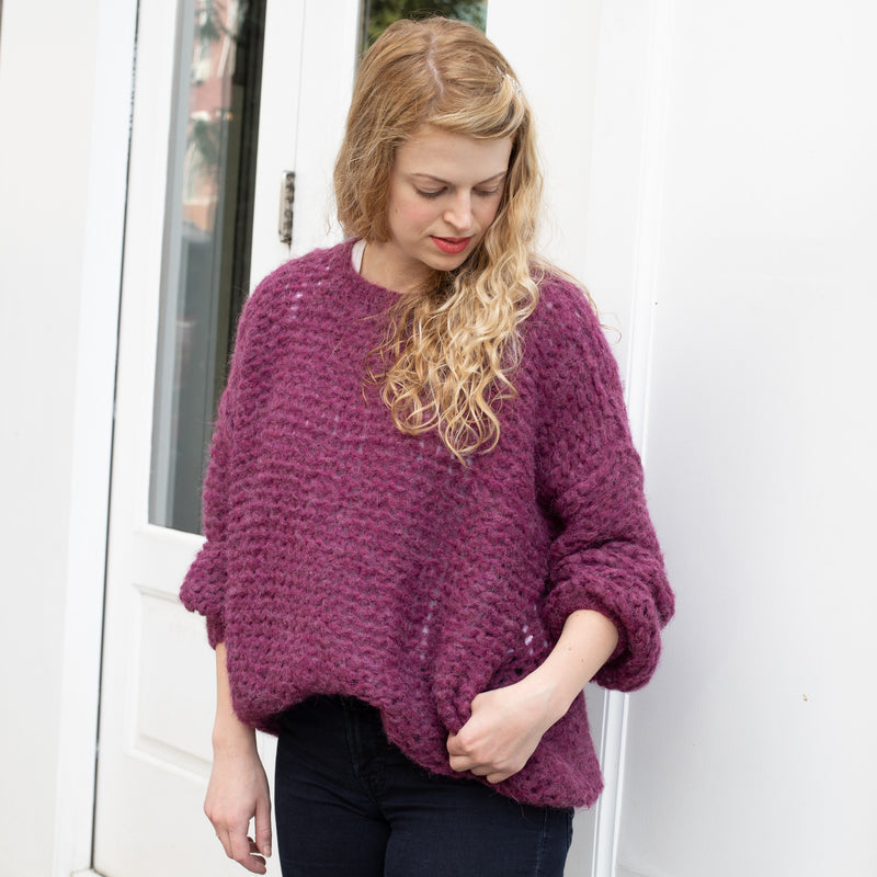 Michele and Hoven Michi Loop Hand-knitted Sweater