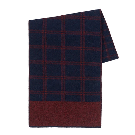 Paris West Windowpane Scarf