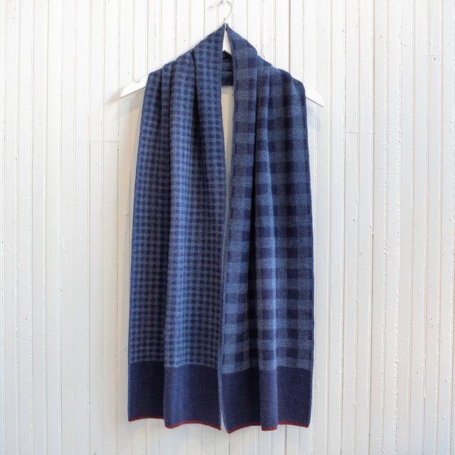 Paris West Gingham Scarf
