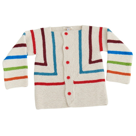 Cabbages and Kings Rainbow Stripe Cardigans
