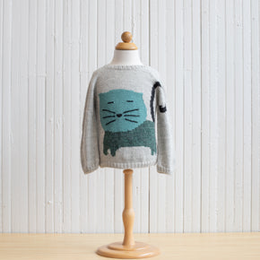 Nanay Green Cat Sweater