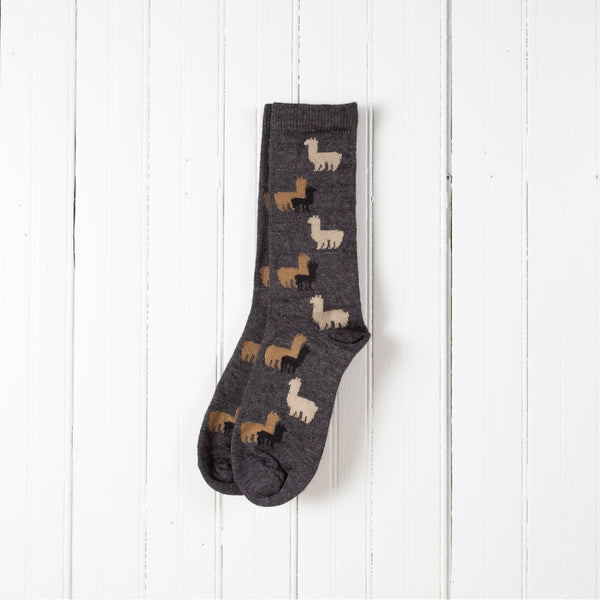 Children's Alpaca Herd Socks
