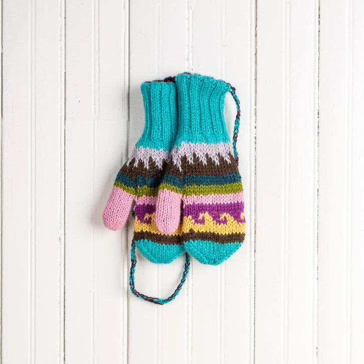 Children's Multicolor Mittens