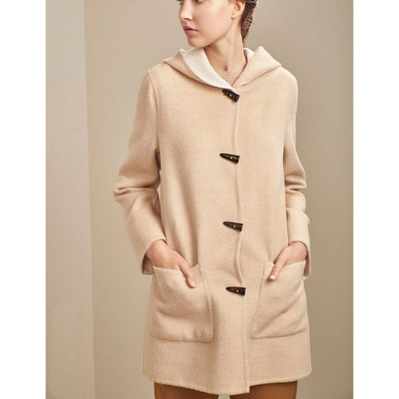 Kuna Anastasia Reversible Coat in Nomad