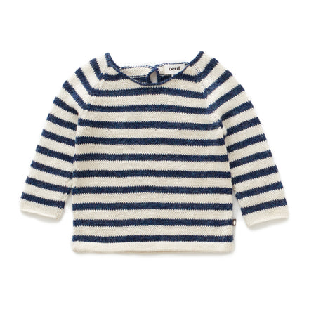 Oeuf Raglan Striped Sweater