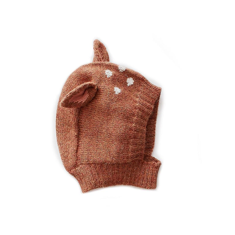 Oeuf Bambi Hat in Hazelnut