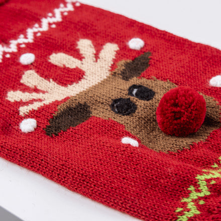 Red Rudolph Dog Sweater