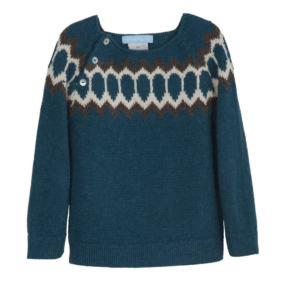 Serendipity Organics Children's Raglan Sweater