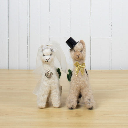 Wedding Alpaca Set
