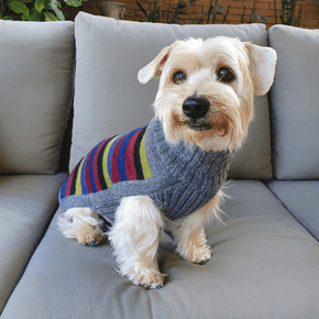 Alqo Wasi Yappy Stripes Dog Sweater
