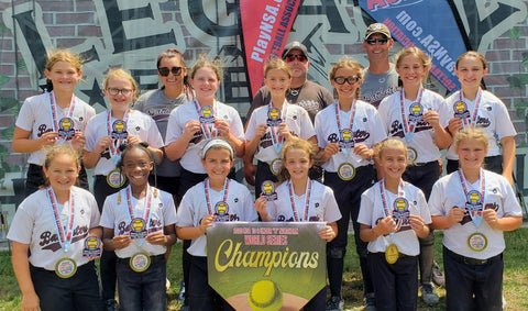 10u B NSA World Series CHAMPION - Batbusters 09 - Rogers - IL