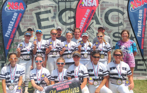 NWI Sox 07 - 12u B NSA World Series CHAMPION